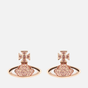Vivienne Westwood Women's Sorada Bas Relief Earrings - Pink Gold Light Rose