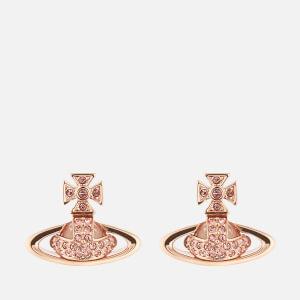 Vivienne Westwood Women's Sorada Bas Relief Earrings - Pink Gold Light Rose