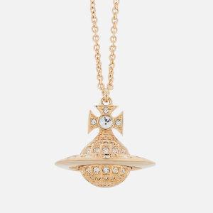 Vivienne Westwood Women's Minnie Orb Pendant - Gold Crystal