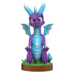 Spyro Collectible Spyro Ice 8 Inch Cable Guy Controller and Smartphone Stand