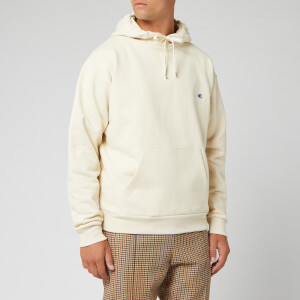 Champion X Clothsurgeon Men's Small Logo Hooded Sweatshirt - Beige