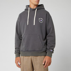 Champion X Clothsurgeon Men's Small Logo Hooded Sweatshirt - Navy