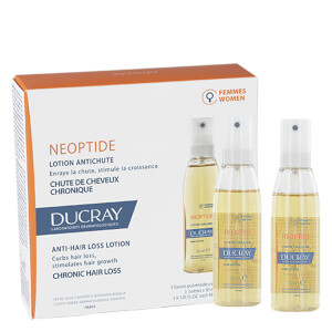 Ducray Neoptide Women's Hair Lotion Treatment for Chronic Thinning Hair 3 x 1 oz