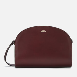A.P.C. Women's Demi-Lune Cross Body Bag - Red