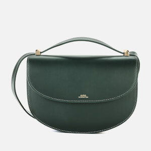 A.P.C. Women's Geneve Cross Body Bag - Green