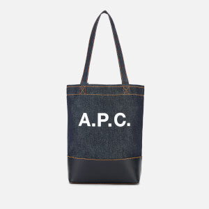 A.P.C. Women's Mini Axelle Tote Bag - Dark Navy