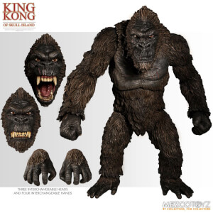 Ultimate King Kong de Skull Island – Mezco