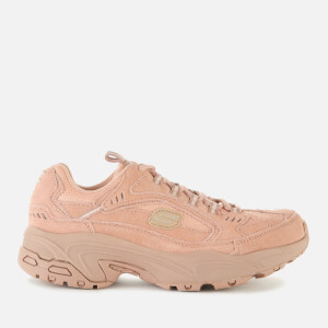 Skechers Women's Stamina Uplift Trail Suede Trainers - Tan