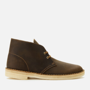 Clarks Originals Men's Leather Desert Boots - Beeswax