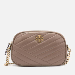 Tory Burch Women's Kira Chevron Camera Bag - Classic Taupe