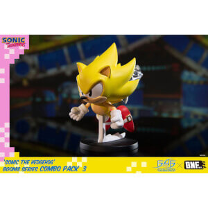 First 4 Figures Sonic the Hedgehog BOOM8 Series PVC Figure Vol. 06 Super Sonic (8cm)