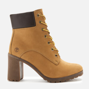 Timberland Women's Allington 6 Inch Lace up Boots - Wheat Nubuck