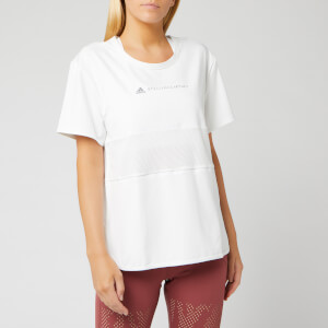 adidas by Stella McCartney Women's Run Loose Short Sleeve T-Shirt - White