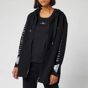 adidas by Stella McCartney Women's Oversized Hoody - Black
