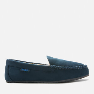 Polo Ralph Lauren Men's Dezi IV Polo Player Slippers - Navy/Royal PP