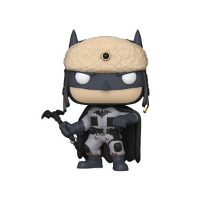 DC Comics Batman 80th Red Son Batman Pop! Vinyl Figure