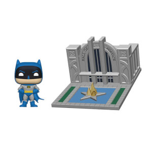 DC Comics Batman with Hall of Justice Batman 80th Pop! Town