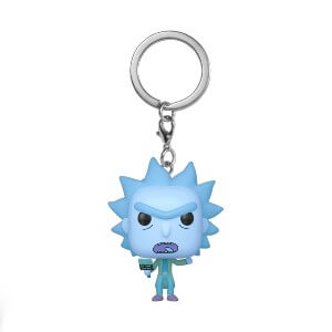 Rick And Morty Holo Rick Pocket Funko Pop! Keychain