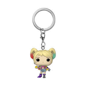 Llavero Funko Pop! - Harley Quinn (Cinta Advertencia) - Birds Of Prey