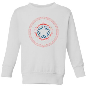 Marvel Captain America Oriental Shield Kids' Sweatshirt - White