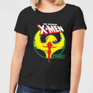 X-Men Dark Phoenix Circle Women's T-Shirt - Black
