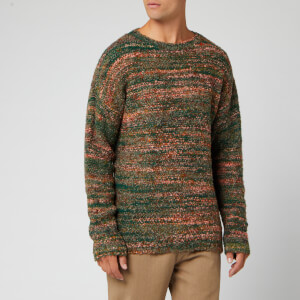 Our Legacy Men's Smudge Fairisle Jumper - Red/Green