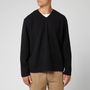 Our Legacy Men's Double Lock Fleece Sweatshirt - Black