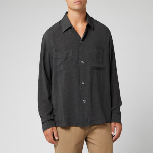 Our Legacy Men's Heusen Shirt - Anthracite
