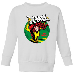 X-Men Defeated By Dark Phoenix Kids' Sweatshirt - White