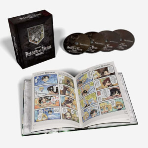 Attack on Titan: Season Three Part One - Limited Edition Combo