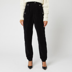 Isabel Marant Women's Derrisy Trousers - Black