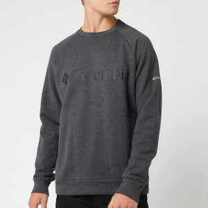 Columbia Men's Columbia Lodge Crew Neck Sweatshirt - Grey