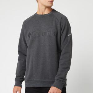 Columbia Men's Columbia Lodge Crew Neck Sweatshirt - Grey