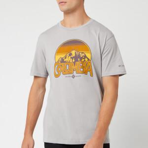 Columbia Men's Basin Butte Short Sleeve T-Shirt - Columbia Grey