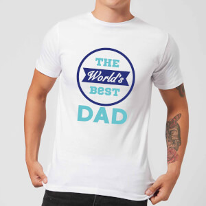 The World's Best Dad Men's T-Shirt - White