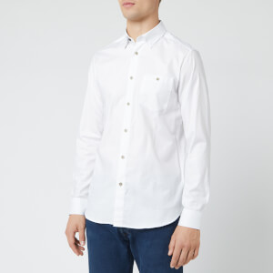Ted Baker Men's Zachari Long Sleeve Shirt - White