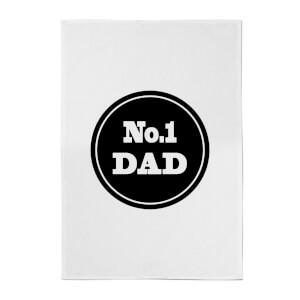 No.1 Dad Cotton Tea Towel