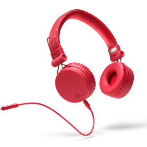 Mixx OX1 Wired 3.5mm Stereo Headphones - Red