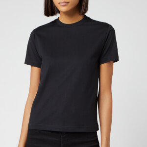 Y-3 Women's Stacked Logo Short Sleeve T-Shirt - Black