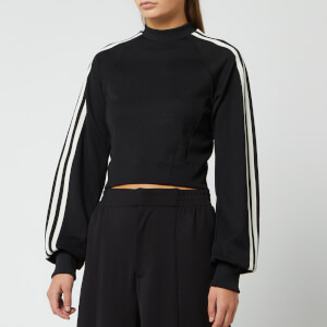 Y-3 Women's 3 Stripe Crew Sweatshirt - Black
