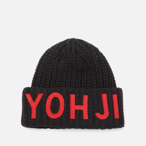 Y-3 Men's Yohji Beanie Hat - Black