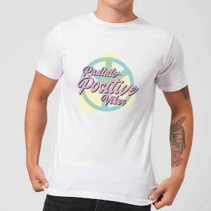 Radiate Positive Vibes Men's T-Shirt - White