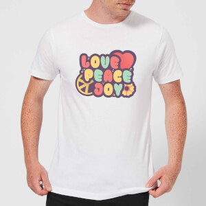 Love Peace Joy Men's T-Shirt - White