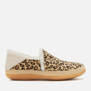 TOMS Women's India Full Slippers - Tan