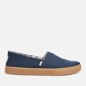 TOMS Men's Alpargata Gum Sole Slip-On Pumps - Navy