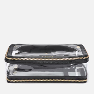 Anya Hindmarch Women's Inflight Perspex Small Cosmetics Case - Clear