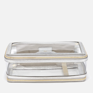 Anya Hindmarch Women's Inflight Perspex Cosmetics Case - Clear