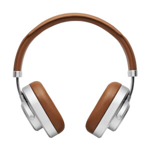 Master & Dynamic MW65 ANC Over Ear Headphones - Silver & Brown