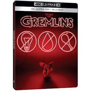 Exclusivité Zavvi: Steelbook Gremlins - 4K Ultra HD (Blu-ray 2D Inclus)