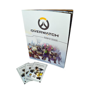Overwatch Sticker Starter Pack plus Sticker Box (50 Packs)